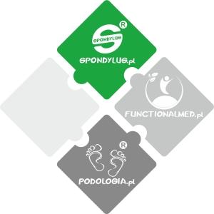 Spondylus-Podologia (szara) -Functionalmed - logotyp
